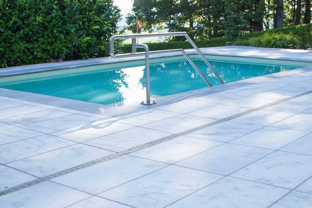 Mamorterrasse für Ihr Pool