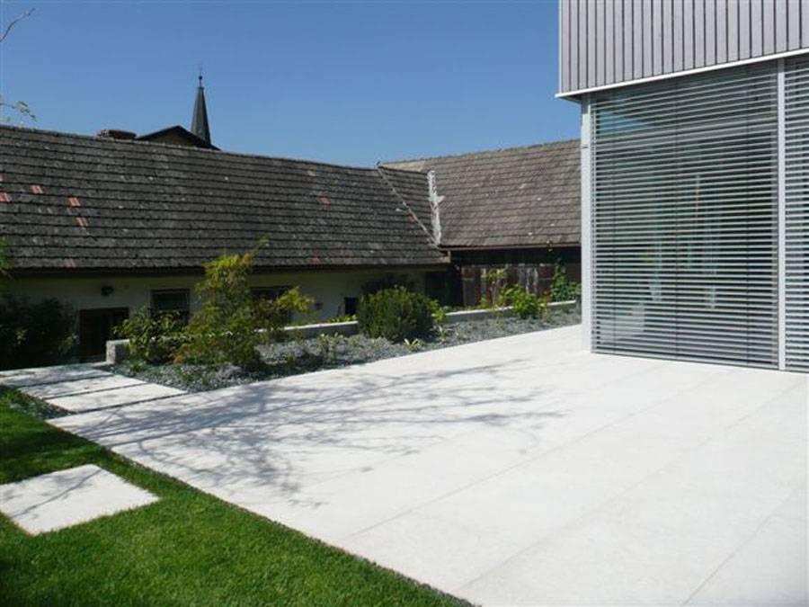 Terrase aus Mamor