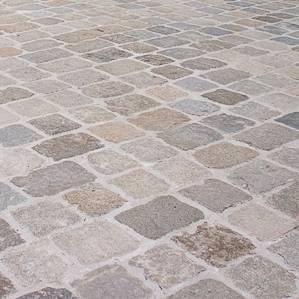 Nahaufnahme des Material Granit
